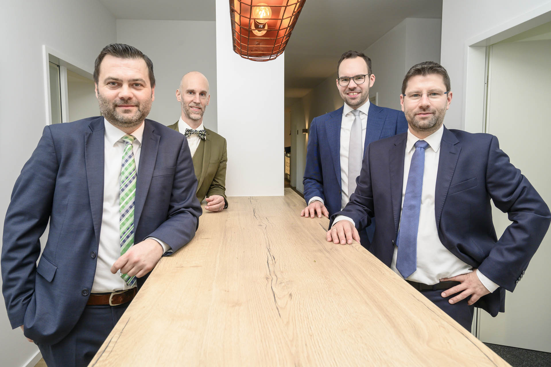 BZG Partner Guido Bleckmann, Guido Zinth, Michale Glombitza, Philipp Sauset